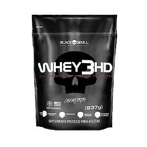 REFIL Whey 3HD - Black Skull (837g)