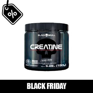 BLACK FRIDAY - Creatina - Black Skull 150g