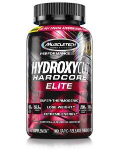 Hydroxycut Hardcore - Muscletech (100 caps)