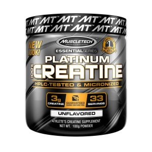 Platinum 100% Creatina - Muscletech (400g)