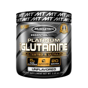 Platinum 100% Glutamina - Muscletech (100g)