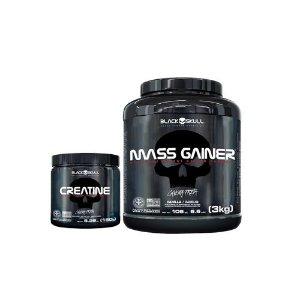 [MASSA] Mass Gainer (3kg) + Creatina (150g)