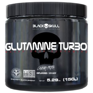 Glutamina Turbo - Black Skull (150g)