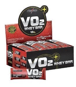 VO2 Whey Bar - Integralmédica (12un / 24un)