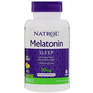 Melatonina 10mg - Natrol (100 caps)