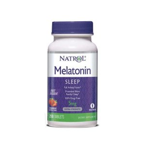 Melatonina 5mg - Natrol (250 caps)
