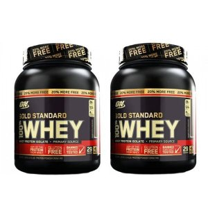 2un Whey Gold Standard 1,1kg - Optimum (2,2kg)