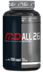 Multivitaminico ALL 26 - Muscle Definition (100 caps)