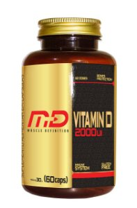Vitamina D 2000ui - Muscle Definition (60 caps / 100caps)