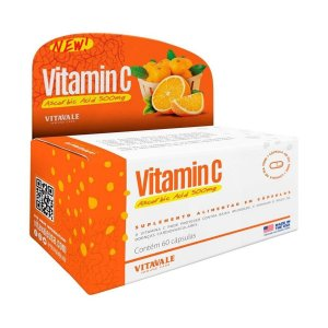 Vitamina C 500mg - Vitavale (60 caps)