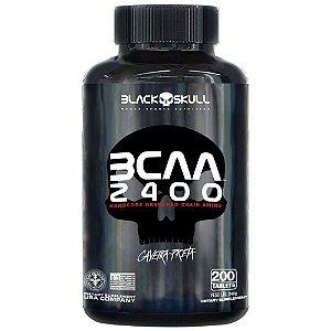 [PROMO] BCAA 2400 - Black Skull (200 cápsulas)