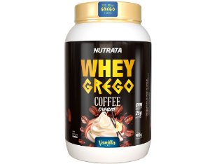 Whey Grego Coffee Cream - Nutrata (900g)