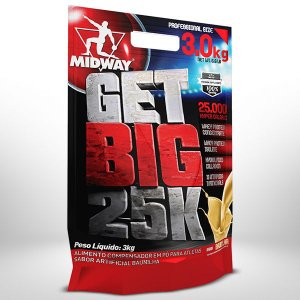 Get Big 25000 - Midway (3kg)