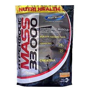 Hyperbolic Mass 33000 - Nutri Health (3kg)