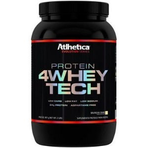 4 WHEY TECH 907g Athletica Nutrition