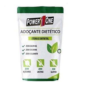ADOÇANTE DIETÉTICO 180g Power1one - Stevia e Eritritol