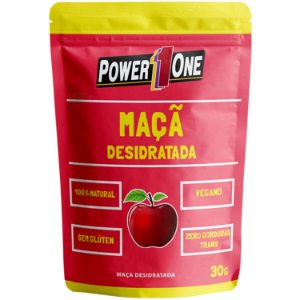 MAÇÃ DESIDRATADA 30g Power1one