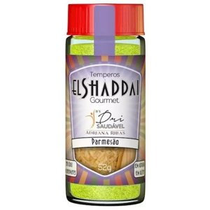 TEMPERO ZERO EL SHADDAI 52g ElShaddai Parmesão, Mix de queijos, Cheddar