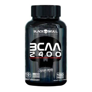 BCAA 2400 - 100 tablets Black Skull