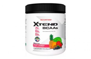 X-TEND BCAAs 288g Scivation Fruint Puch