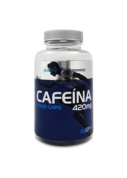 CAFEÍNA 420mg - 90 caps Global Suplementos