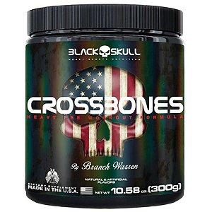 CROSSBONES 300g Black Skull