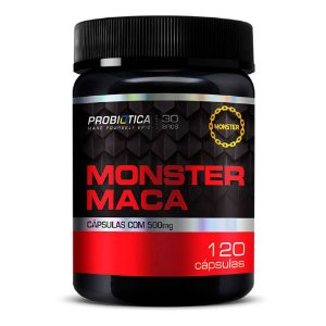 MONSTER MACA 120 caps Probiótica