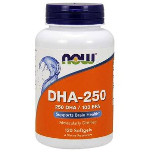 DHA-250 120 caps Now Sports