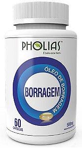 ÓLEO DE BORRAGEM60 capsPholias