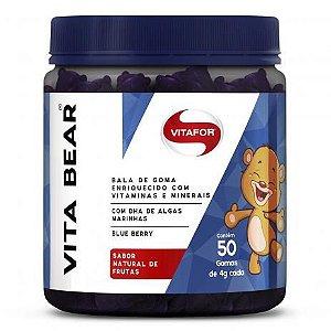 VITA BEAR 50 gomas Vitafor 250g Natural de Frutas