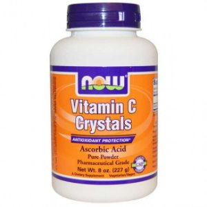 VITAMIN C CRYSTALS	227g Now Sports