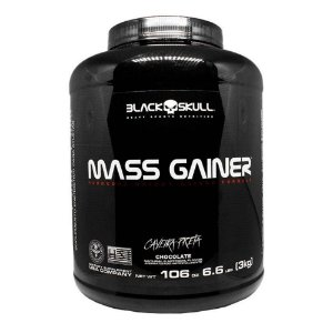 MASS GAINER 3 kg Black Skull