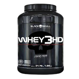 WHEY 3HD - 1,8 kg - Black Skull