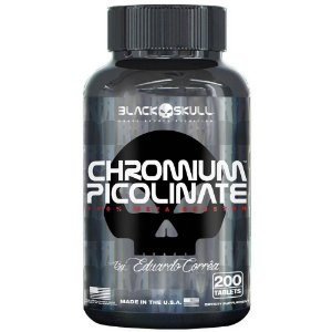 CHROMIUM PICOLINATE 200 tablets Black Skull