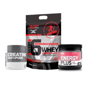 Energy Plus 150g + C. 50g Atletica + Proteína 6 Whey 907g