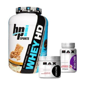 WHEY HD + BCAA 2400 + C