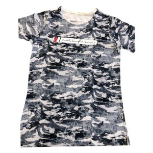 CAMISETA CAMUFLADA CINZA - NUTRIFORM COLLECTION