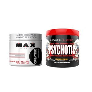 CREA MAX 100G + PSYCHOTIC INSANE LABZ 35 DOSES