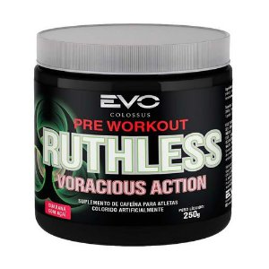 RUTHLESS VORACIOUS ACTION 250G - EVO COLOSSUS - HYPERPURE