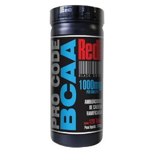 BCAA PRO CODE 120 TABLETS - RED SERIES