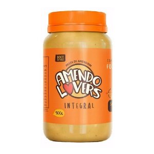PASTA DE AMENDOIM - 500g - AMENDO LOVERS