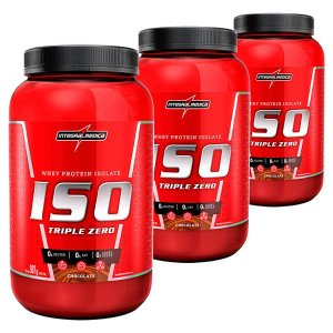 LEVE + PAGUE - WHEY ISO TRIPLE ZERO 907G - INTEGRALMÉDICA
