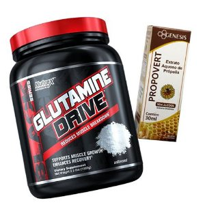 GLUTAMINA DRIVE - 1K - NUTREX + PROPOLIS 30ML