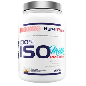 WHEY 100% ISO MILK PROTEIN - 900g - HYPERPURE