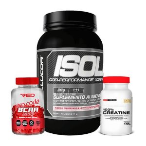 WHEY ISOLATE - CELLUCOR + BCAA + CREATINA