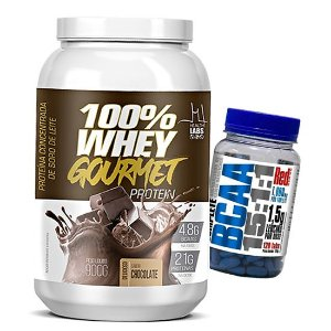 WHEY 100% GOURMET PROTEIN + B C A A