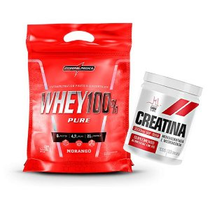 100% WHEY PURE 1,8KG + C 100G