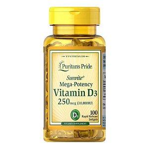 Vitamida D3 - 10.000 UI - Puritans Pride