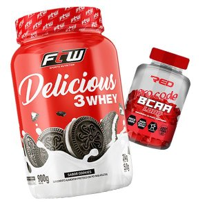 WHEY DELICIOUS - 900g  - FTW + B C A A