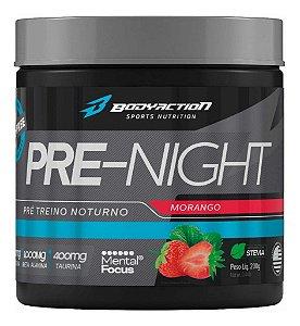 PRE-NIGHT MORANGO - 200G - BODYACTION